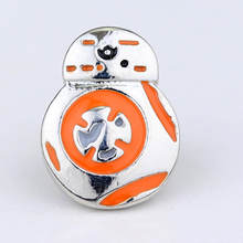 Star Wars Pin Stormtrooper Bros Pin Darth Vader Aliansi Pemberontak Falcon Bros Lencana Kerah Pin Pria(China)
