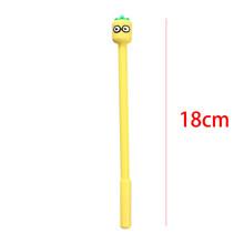 Креативная гелевая ручка с фруктовой головкой, креативная мультяшная Милая ручка для домашних животных, гелевая ручка для девочек, студенч...(China)