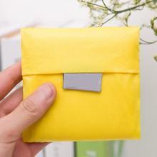 Moda reutilizável saco de compras grande dobrável preto tote bolsa feminina sólida oxford mercearia portátil sacos de mão 2018 novo(China)