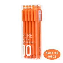10 шт./компл. Kaco цветная ручка 0,5 мм Kaco Core прочная ручка для подписи заправлять черными чернилами + заправки Kaco(China)