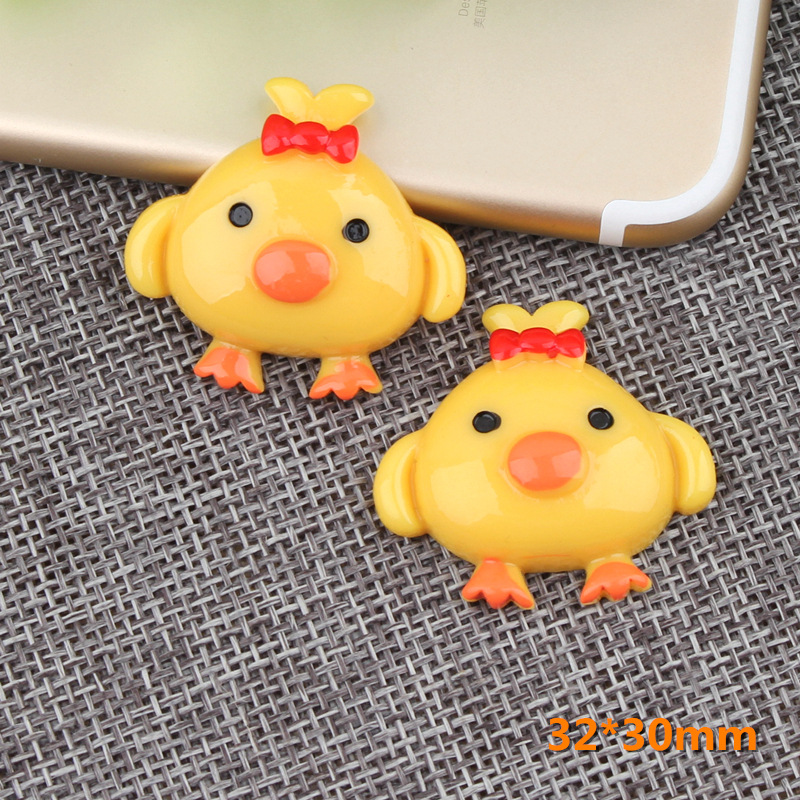 Slime charms Cute Chick Addition Slime Charms Additives for Slime Supplies Filler Polymer Accessories Model Tool for Kids Toys 4