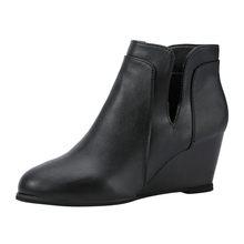 Sexy Hoge Hak Laarzen Vrouwen Flock Enkellaarsjes Voor Vrouwen Casual Schoenen Wees Teen Beige, Bruin, zwarte Korte Laarzen Botines Mujer 2020(China)
