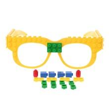 Nuovi Occhiali Blocchi Piastra di Base FAI DA TE Giocattolo Occhiali Cornice di Mattoni Compatibile Con Legoed(China)