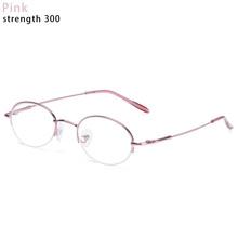 Лидер продаж, 1 шт., очки для близорукости диоптрий-1-1,5-2-2,5-3-3,5-4-4,5-5-5,5-6, женские металлические полуоправы для близоруких(Китай)