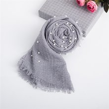 Multifunctional Soft Baby Photography Props Newborn Photography Blanket Baby Photo Wraps Pearls Beaded Muslim Wraps(China)