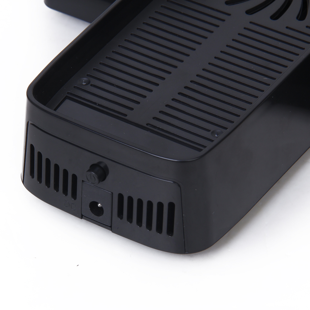 3-in-1 Cooling Fan Console Controller Stand Base For Xbox 360 Slim / 360 E