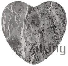 Zdying 5 pçs/lote 25mm forma do coração pedra de mármore textura de vidro cabochão foto charme diy jóias descobertas para colar chaveiro(China)