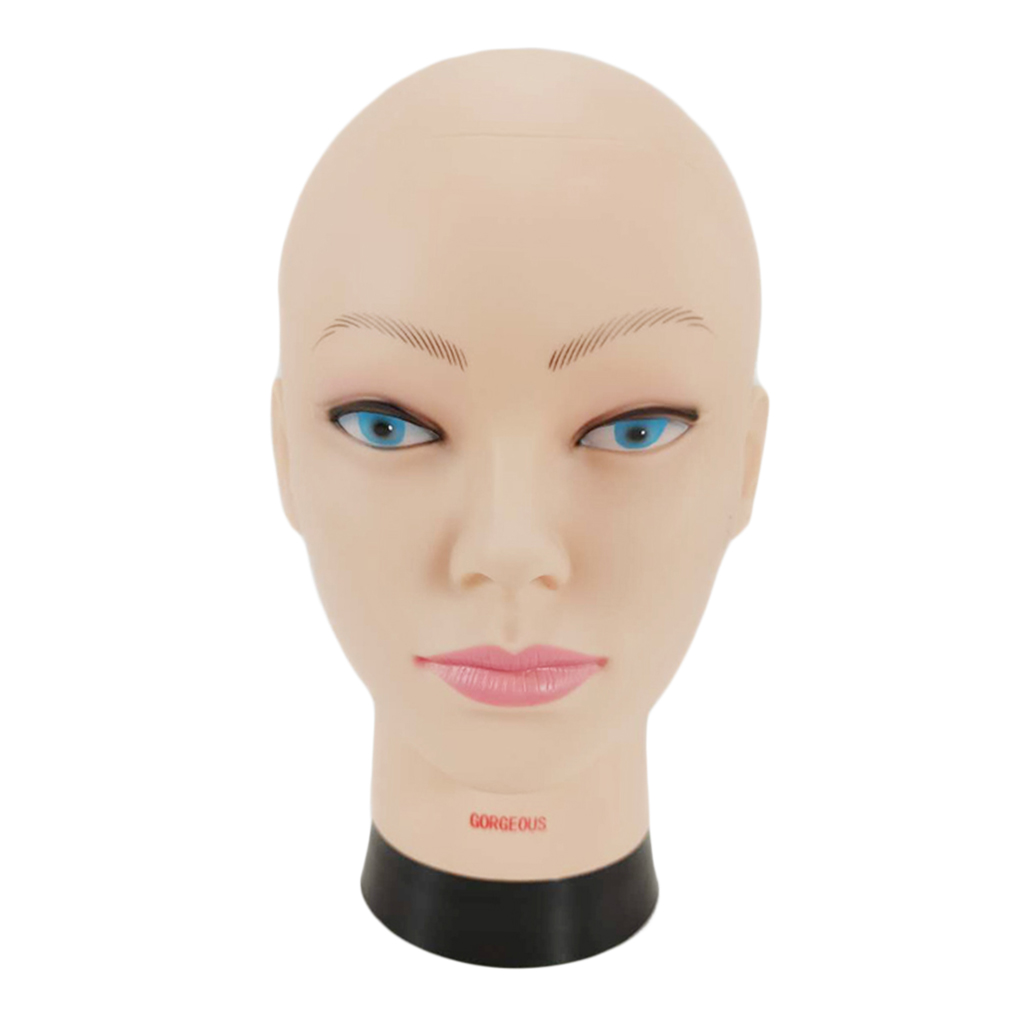 Professional Mannequin Head for Make Display Style Dry Wig 10.2 inch Hairdressing Training Head