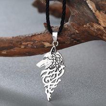 CHENGXUN czarna lina przewód anioł skrzydła z piór Charms Slip-on naszyjnik szczotkowane antyczne biżuteria prezent dla chłopaka(China)