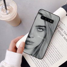 Billie Eilish Khalid น่ารัก TPU Soft สำหรับ Samsung S9 PLUS S5 S6 EDGE PLUS S7 EDGE s8 PLUS S10 E S10 PLUS(China)