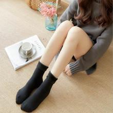 Cilt Rengi Kış Kalın Termal Kaşmir Kar Çorap Kadın Örgü Diz Uzun Önyükleme Üzerinde Uyluk Yüksek Sıcak Zemin(China)
