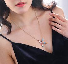 Lindo A-Z colgante inicial para las mujeres Kawaii plata 26 letras collar doble cara strass collares y colgantes para los regalos de los Amantes(China)