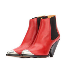 SARAIRIS New Fashion Big Size 33-43 Luxury Ankle Boots Genuine Leather High Heels Shoes Woman Casual Party Ol Sexy Boots Women(China)