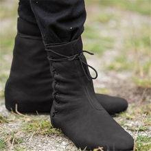 Odetina ผู้หญิงแฟชั่นผู้หญิงฤดูใบไม้ร่วง Distressed แบน Comfort Lace Up Elegant Retro รอบ Toe ฤดูหนาวรองเท้าข้ามผูก(China)