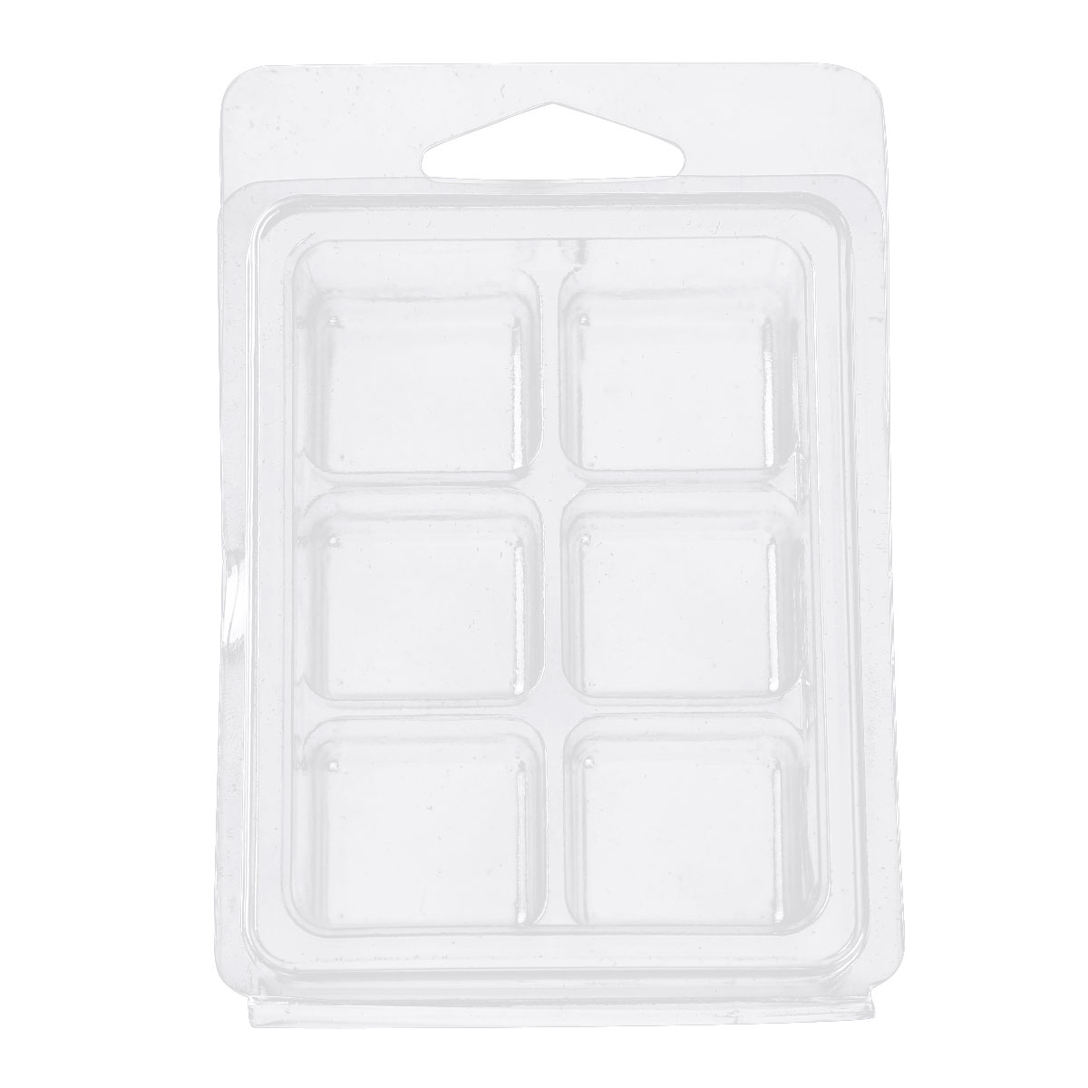 20Pcs Clear Wax Melt Molds With Wax Melt Clamshells for Wickless Wax Melt Candle