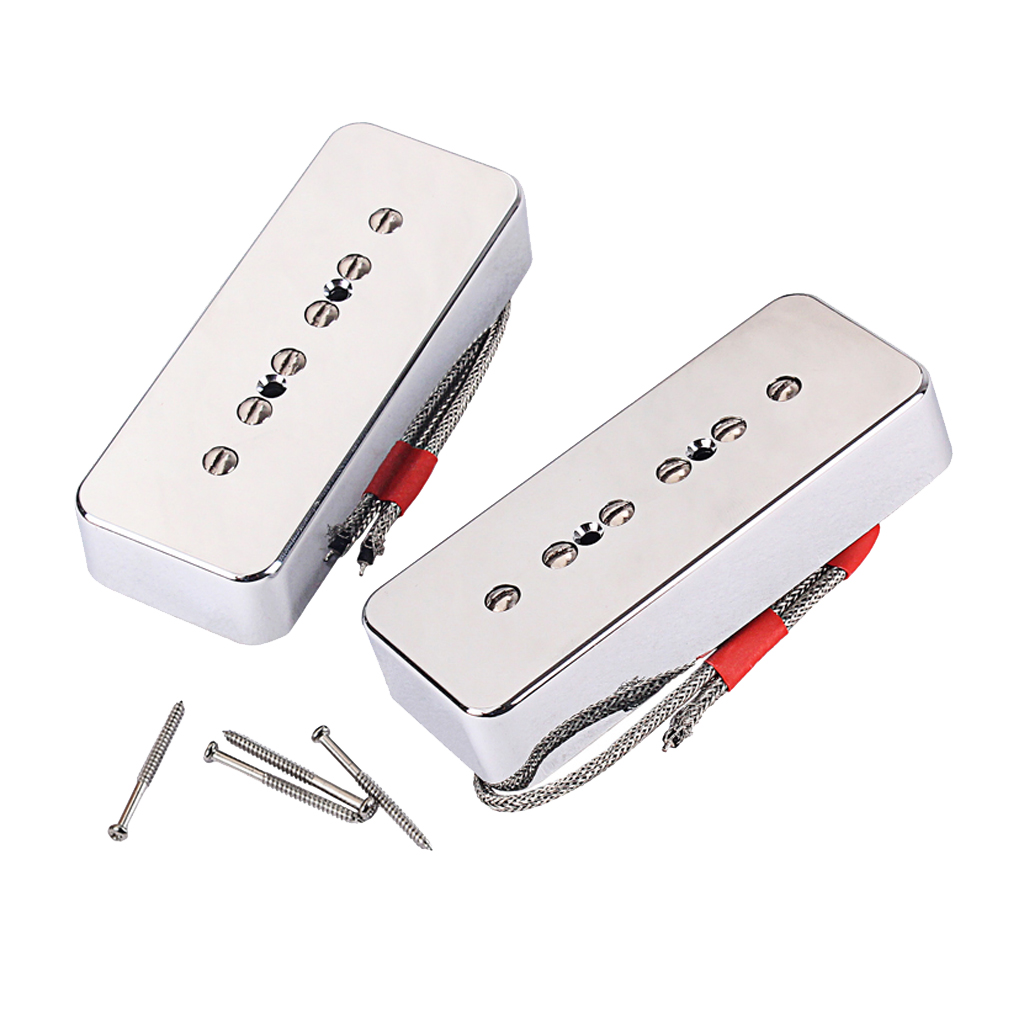 Humbucker Pickup Set Alnico 5 for P90 Electric Guitar Replacement Parts