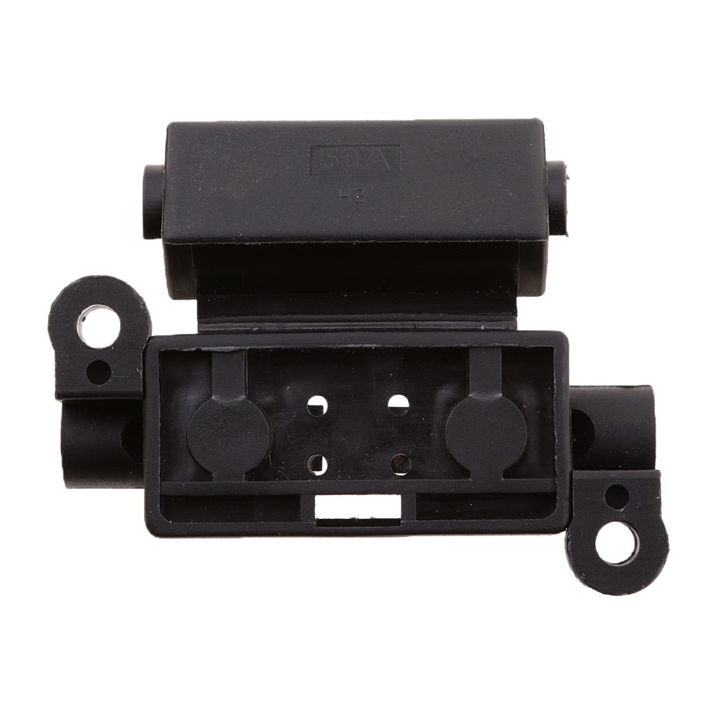 50A Car Fuse Box Block Holder Cover Case BX201111 Auto Replacement