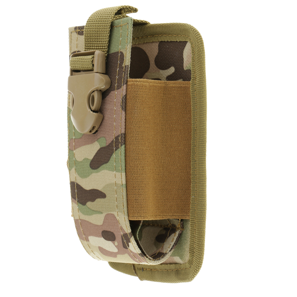 Molle Radio Walkie Talkie Pouch Holder Holster Case Bag Pocket Large