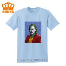 100% хлопок Harajuku мода Ван Гог Джокер печатных футболки для мужчин винтаж короткий рукав Повседневная мода Графический мужские футболки топы(China)