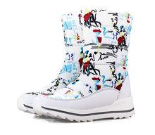 Klassische Frauen Winter Stiefel Mid-Kalb Schnee Stiefel Weibliche Warme Pelz Plüsch Einlegesohle Hohe Qualität Botas Mujer Größe 36 -40 n544(China)