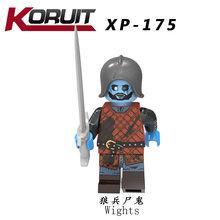 Para Juego de tronos Jon Snow Arya Stark Petyr Baelish Jimmy bloques de construcción de hielo y fuego modelo de ladrillos juguetes para niños Legoings(China)