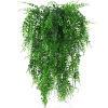 1 шт. Искусственные цветы ротанг, искусственные листья настенный подвесной ротанговый Декор для дома и сада зеленые листья ивы Висячие лозы ...(Китай)