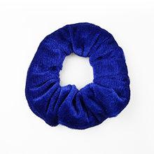 27 Color Soft Chiffon Velvet Satin Hair Scrunchie Floral Grip Loop Holder Stretchy Hair Band Leopard Women Hair Accessories(China)