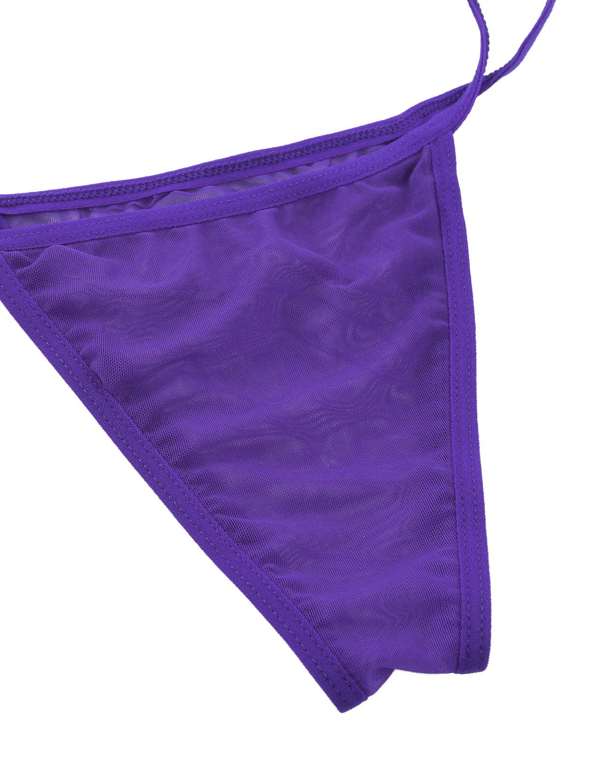 US Sexy Womens One-Piece Bikinis Thong Swimsuit Swimwear