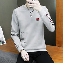 2019 Mới Moletom Masculino Thời Trang chắc chắn Mới casual Nam dài tay Khoác Hoodie Nam Chui Đầu Quần Tây Plus kích thước 3XL XXXL(China)