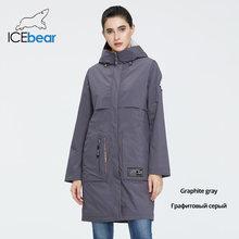 ICEbear 2020 nuevo abrigo para mujer Chaqueta larga de mujer Abrigos de calidad para mujer moda Casual ropa de marca mujer ropa GWC20727I(China)