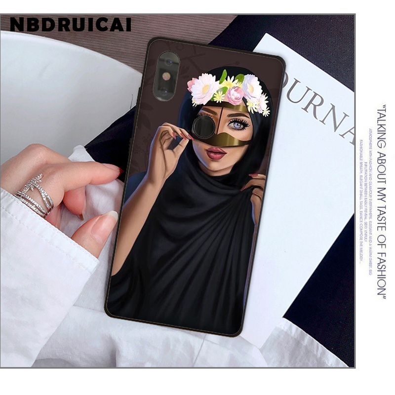 Luxury Woman In Hijab Face Muslim Islamic Gril Eyes