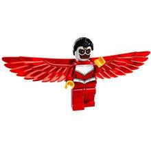 Singola Vendita Falcon Sam SUPER HEROES The Avengers Minifig mini figure Assemblare FAI DA TE Blocchi di Costruzione Per Bambini Giocattoli dei Regali(China)