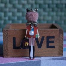 Disegni di alta Qualità retro distintivi della volpe di Modo Spille per la Donna cappello di lana Spille Spilli su zaino della ragazza regali Della Decorazione del Panno(China)