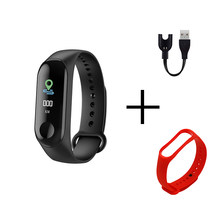 Fitness M3 Color Screen Smart Sport Bracelet Activity Running Tracker Heart Rate For Children Men Women Watch For IOS Android(China)