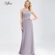 Новое Элегантное Фиолетовое Женское летнее платье, халат Femme сексуальное на одно плечо с открытой спиной вечернее платье с блестками для да...(China)