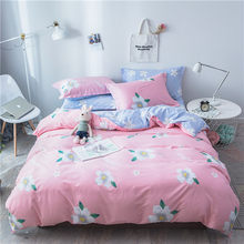 100% cotton Bedding set Brief Wavy line Duvet Cover Pillow Cases Single Twin Full Queen King Double Size 3pcs home textiles(China)