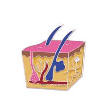 Microscopio Spilla Medico Spille Biologia Molecolare Distintivo Spille Per Le Donne Degli Uomini Medico Infermiere Medico Stetoscopio Chimica Dei Monili(China)