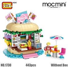 LOZ мини-строительные блоки парк развлечений мини-архитектурные наборы кирпичи модель сборки строительные Образовательные наборы DIY Детски...(China)