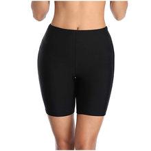 Plus Ukuran 5XL Baju Renang Bikini Set Tankini dengan Celana Pendek Setengah Celana Panjang Wanita Baju Renang Ukuran Besar Pakaian Menutupi pantai # G5(China)