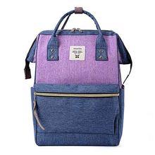 Mochila de lona ocasional das mulheres sacos para os estudantes da escola meninas senhoras anti roubo mochilas viagem bagpack mujer(China)