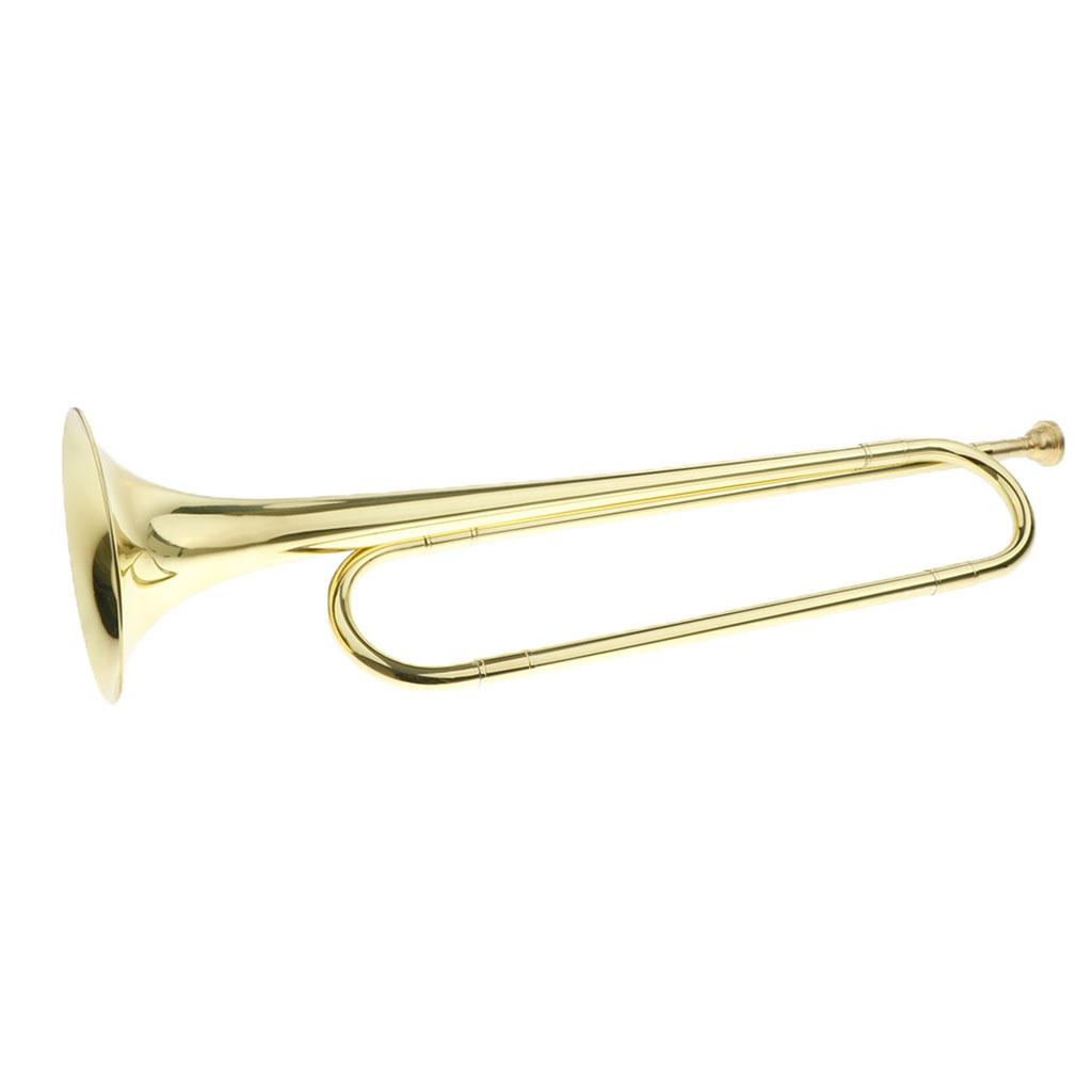 sharprepublic Estudiantes Lat/ón Trompeta Instrumento de Lat/ón Instrumento Pulido de Superficies