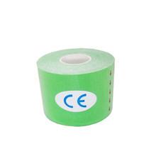 Pamuk elastik kinesiyoloji bandı terapötik atletik su geçirmez spor güvenlik bandaj kas destek yapıştırıcı Kinesio bant(China)