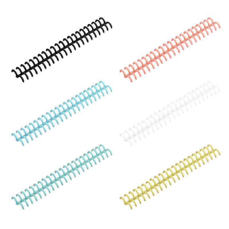 UNFAIR Cercle Multifonction en Plastique Cr/éatif Anneau De Cerceau De Reliure De Livre De Feuilles Mobiles Dalbum De Bricolage