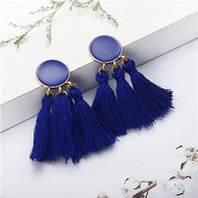 32 styles Bohemia Statement Tassel Earrings colorful handmade fancy Long Drop Earrings for Women 2019 Fashion Jewelry Gift(China)