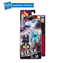 Hasbro Transformers oyuncaklar nesil Cybertron savaşı kuşatma Micromaster WFC-S18 ses dalgası casus devriye 2-pack aksiyon figürü(China)