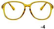 -1-1,5-2-2,5-3-3,5-4-4,5-5,0-5,5-6,0 прозрачный близорукость очки Для женщин мужские Оптические очки прозрачные оправы для очков(Китай)