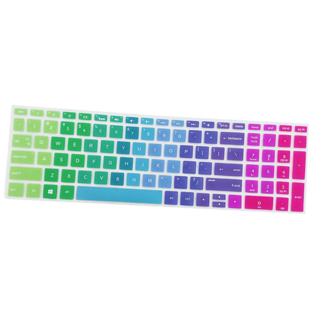 Silicone Notebook Keyboard Skin Cover for HP 15.6''BF Laptop