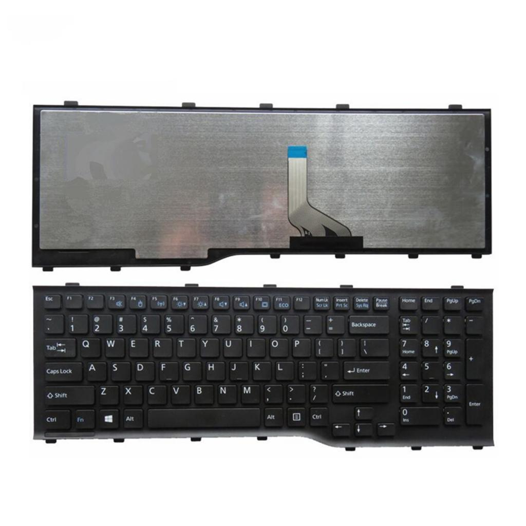 US Layout Replacement Keyboard for FUJITSU Lifebook AH532 A532 N532 NH532 PN:MP-11L63US-D85 Laptop Keyboard High Quality