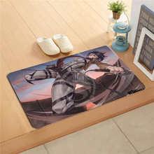 W530L26 Custom attacco su titan Anime Pittura Ad Acquerello Porta Zerbino Complementi Arredo Casa Porta Zerbino Pavimento Zerbino Bagno Zerbino s rilievo del piede # F25(China)