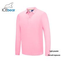 Icebear 2020 봄 신작 긴팔 t 셔츠 섬유 셔츠 커프 셔츠 유니섹스 스타일 1358(China)